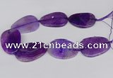 CNG3350 15.5 inches 40*50mm - 45*60mm freeform agate beads