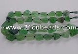 CNG3426 15.5 inches 15*20mm - 20*30mm nuggets fluorite beads