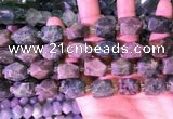 CNG3538 15.5 inches 12*14mm - 13*16mm faceted nuggets diopside beads