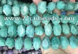 CNG3610 15.5 inches 13*20mm - 15*24mm faceted nuggets amazonite beads