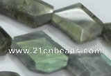 CNG445 15.5 inches 15*20mm – 20*32mm faceted nuggets labradorite beads