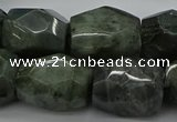 CNG5008 15.5 inches 13*18mm - 15*25mm faceted nuggets labradorite beads
