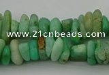 CNG5041 15.5 inches 3*8mm - 6*10mm nuggets Australia chrysoprase beads