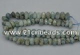 CNG5069 15.5 inches 10*14mm - 14*20mm faceted nuggets aquamarine beads