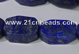 CNG5110 15.5 inches 14*20mm - 18*25mm freeform lapis lazuli beads