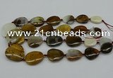 CNG5158 15.5 inches 16*22mm - 30*35mm freeform Mexican agate beads