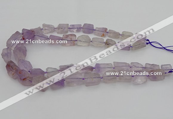 CNG5242 15.5 inches 8*12mm - 15*25mm nuggets amethyst beads