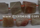 CNG5243 15.5 inches 8*12mm - 15*25mm nuggets moonstone beads