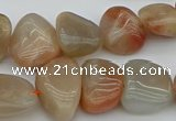 CNG5251 15.5 inches 13*18mm - 15*20mm nuggets moonstone beads