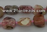 CNG5292 15.5 inches 8*12mm - 15*20mm nuggets pink opal gemstone beads