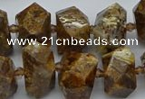 CNG5455 15.5 inches 12*16mm - 15*20mm faceted nuggets opal beads