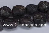 CNG5535 15.5 inches 10*14mm - 12*16mm nuggets garnet beads