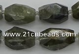 CNG5587 12*16mm - 15*25mm faceted nuggets labradorite beads