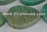 CNG5703 15.5 inches 22*30mm - 28*35mm freeform amazonite beads