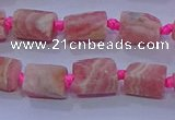 CNG5914 15.5 inches 4*6mm - 6*10mm nuggets rough rhodochrosite beads