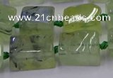 CNG6810 15.5 inches 8*12mm - 10*16mm nuggets prehnite beads
