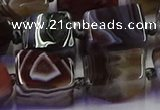 CNG6816 15.5 inches 8*12mm - 10*16mm nuggets botswana agate beads