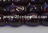 CNG6874 15.5 inches 8*12mm - 10*14mm nuggets garnet beads