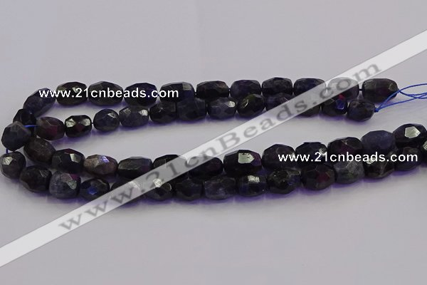 CNG6887 15.5 inches 10*14mm - 13*18mm faceted nuggets iolite beads