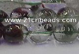 CNG6911 15.5 inches 8*12mm - 10*14mm nuggets green phantom quartz beads