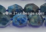 CNG6935 15.5 inches 12*16mm - 13*18mm faceted nuggets apatite beads