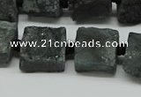 CNG7008 15.5 inches 14mm - 16mm freeform druzy agate beads