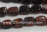 CNG711 15.5 inches 10*14mm nuggets red tiger eye beads wholesale