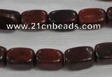 CNG720 15.5 inches 10*15mm nuggets Chinese red jasper beads