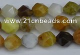 CNG7370 15.5 inches 6mm faceted nuggets mixed opal beads