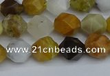 CNG7371 15.5 inches 8mm faceted nuggets mixed opal beads