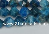 CNG7430 15.5 inches 6mm faceted nuggets apatite gemstone beads