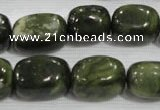 CNG762 15.5 inches 13*18mm nuggets serpentine jade beads wholesale