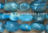 CNG8017 15.5 inches 6*8mm nuggets apatite gemstone beads