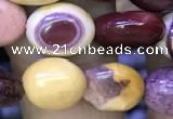 CNG8047 15.5 inches 8*10mm nuggets mookaite jasper beads