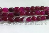 CNG8153 15.5 inches 10*14mm nuggets agate beads wholesale