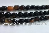 CNG8160 15.5 inches 10*14mm nuggets agate beads wholesale