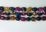 CNG8221 15.5 inches 12*16mm nuggets agate beads wholesale