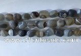 CNG8237 15.5 inches 12*16mm nuggets striped agate beads wholesale