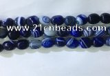 CNG8270 15.5 inches 13*18mm nuggets striped agate beads wholesale