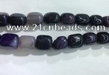 CNG8291 15.5 inches 15*20mm nuggets agate beads wholesale