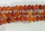 CNG8331 15.5 inches 10*12mm nuggets agate beads wholesale