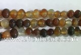 CNG8337 15.5 inches 10*12mm nuggets agate beads wholesale