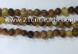 CNG8351 15.5 inches 10*12mm nuggets striped agate beads wholesale
