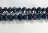 CNG8384 15.5 inches 12*16mm nuggets striped agate beads wholesale