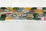 CNG8398 15.5 inches 8*18mm – 10*25mm freeform agate beads