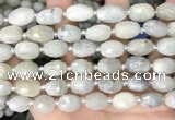 CNG8531 15.5 inches 9*12mm - 10*14mm faceted nuggets aquamarine beads