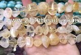 CNG8591 12*16mm - 13*18mm faceted nuggets citrine gemstone beads