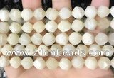 CNG8758 15.5 inches 10mm faceted nuggets moonstone gemstone beads