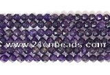 CNG9093 15.5 inches 8mm faceted nuggets amethyst gemstone beads