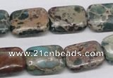CNI16 16 inches 13*18mm rectangle natural imperial jasper beads wholesale